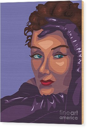 Gloria Wood Print