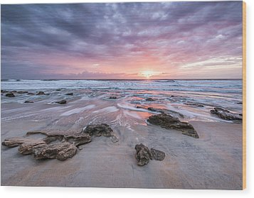 Glorious In St. Augustine Wood Print by Jon Glaser