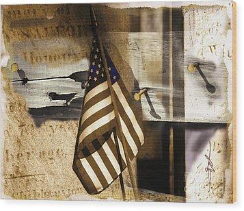 Glory Wood Print by Bob Salo