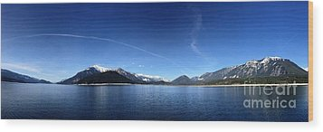 Wood Print featuring the photograph Glowing In The Blue by Victor K