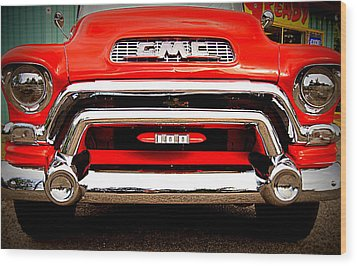 Gmc Ready Wood Print