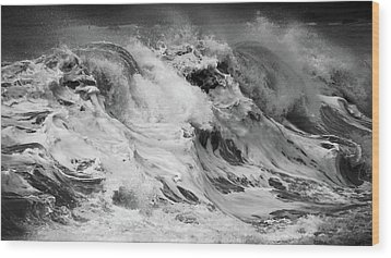 Goat Rock Beach Wood Print