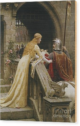 God Speed Wood Print by Edmund Blair Leighton