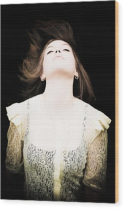 Goddess Of The Moon Wood Print by Loriental Photography