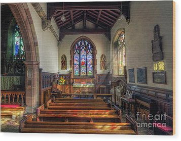 Wood Print featuring the photograph Gods Light by Ian Mitchell