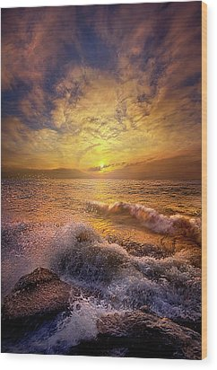 Wood Print featuring the photograph Gods Natural Cure by Phil Koch