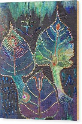 Gods Of Pandora Wood Print