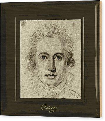 Goethe Wood Print