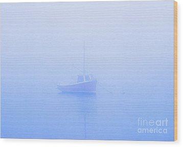 Gog Boat Wood Print by John Greim