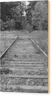 Wood Print featuring the photograph Going Nowhere by Corinne Rhode