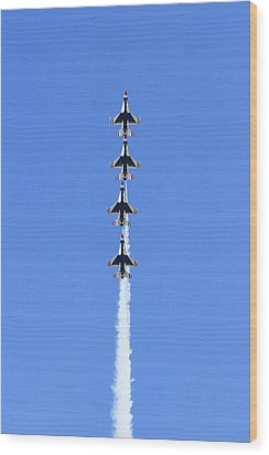 Going Vertical  Wood Print by Shoal Hollingsworth
