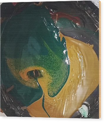 Gojira Basking By The Docks In Delhi Wood Print