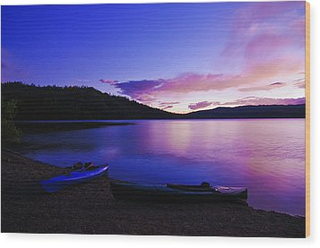 Wood Print featuring the photograph Gold Lake Sunrise by Sherri Meyer