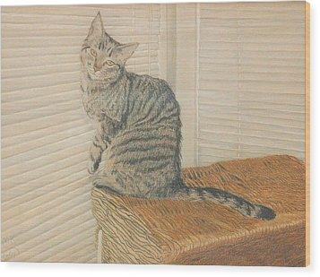 Goldberry Wood Print by Miriam A Kilmer