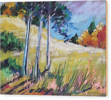 Golden Fields Wood Print by John Williams