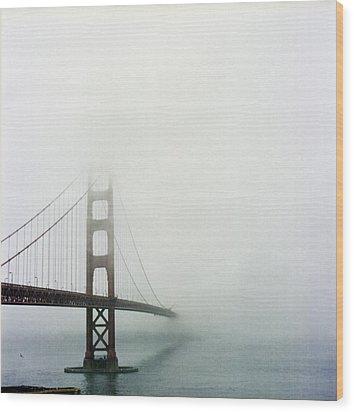 Golden Gate Bridge, San Francisco, California Wood Print by Tuan Tran