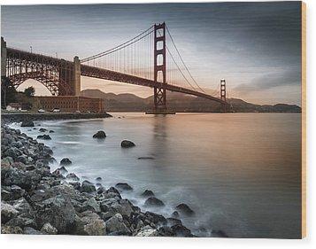 Golden Gate Bridge, San Francisco Wood Print