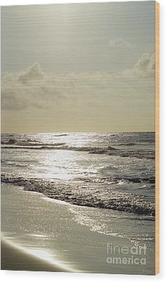 Golden Morning At Folly Wood Print by Jennifer White