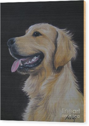 Golden Retriever Nr. 3 Wood Print