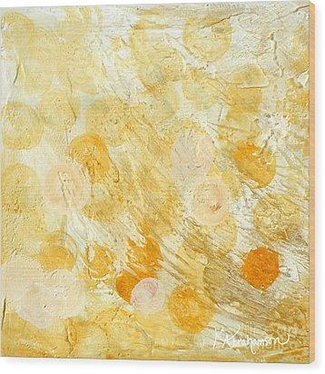 Goldie Wood Print by Kristen Abrahamson