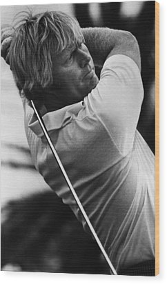 Golf Pro Jack Nicklaus, 1973 Wood Print by Everett