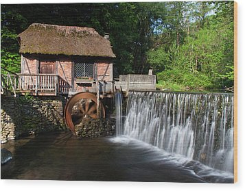 Gomez Mill In Spring #1 Wood Print