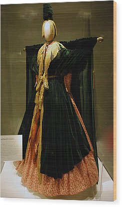 Gone With The Wind - Carol Burnett Wood Print by LeeAnn McLaneGoetz McLaneGoetzStudioLLCcom
