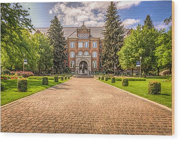 Gonzaga University II Wood Print
