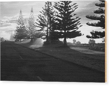 Good Morning Wood Print by Graham Hughes