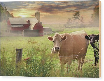 Wood Print featuring the photograph Good Morning by Lori Deiter