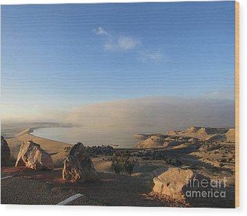 Good Morning Pueblo Wood Print