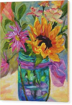 Good Morning Sunshine Wood Print by Chris Brandley