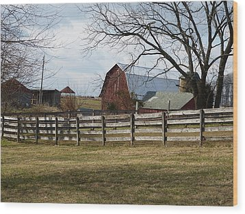 Wood Print featuring the photograph Good Old Barn by Donald C Morgan
