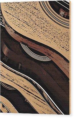 Good Wood Wood Print