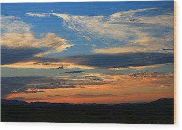 Goodnight Arizona Wood Print