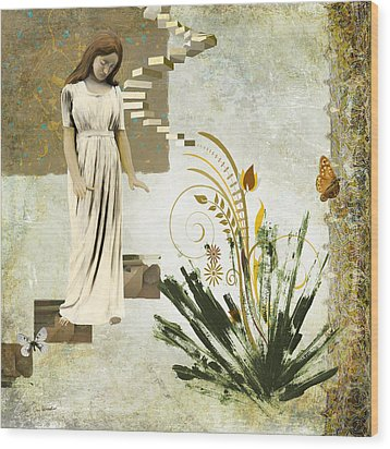 Goodnight Irene Wood Print by Van Renselar