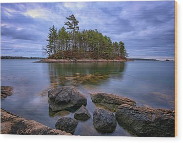 Wood Print featuring the photograph Googins Island by Rick Berk