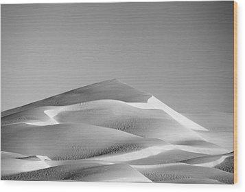 Gordon Wells Dunes Wood Print by Peter Tellone