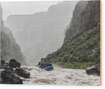 Gorge Squall Wood Print