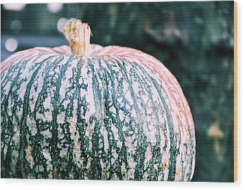 Gorgeous Gourd Wood Print by JAMART Photography