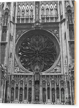 Wood Print featuring the photograph Gothic by Brian Jones