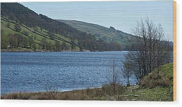 Gouthwaite Reservoir Wood Print by Steve Watson