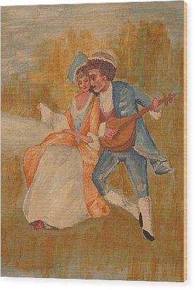Goya Wood Print by Eckland Cort