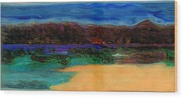 Grace Wood Print by FeatherStone Studio Julie A Miller