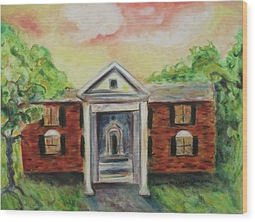 Graceland Wood Print by Suzanne  Marie Leclair