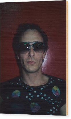 Graham Parker Wood Print by Rich Fuscia