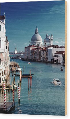 Grand Canal Of Venice Wood Print by Michelle O'Kane