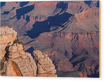 Grand Canyon 21 Wood Print by Donna Corless