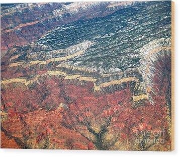 Grand Canyon 3 Wood Print by Addie Hocynec