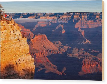 Grand Canyon 35 Wood Print by Donna Corless